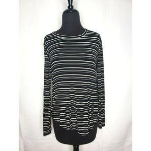 AMERICAN EAGLE Soft & Sexy Long Striped T-Shirt
